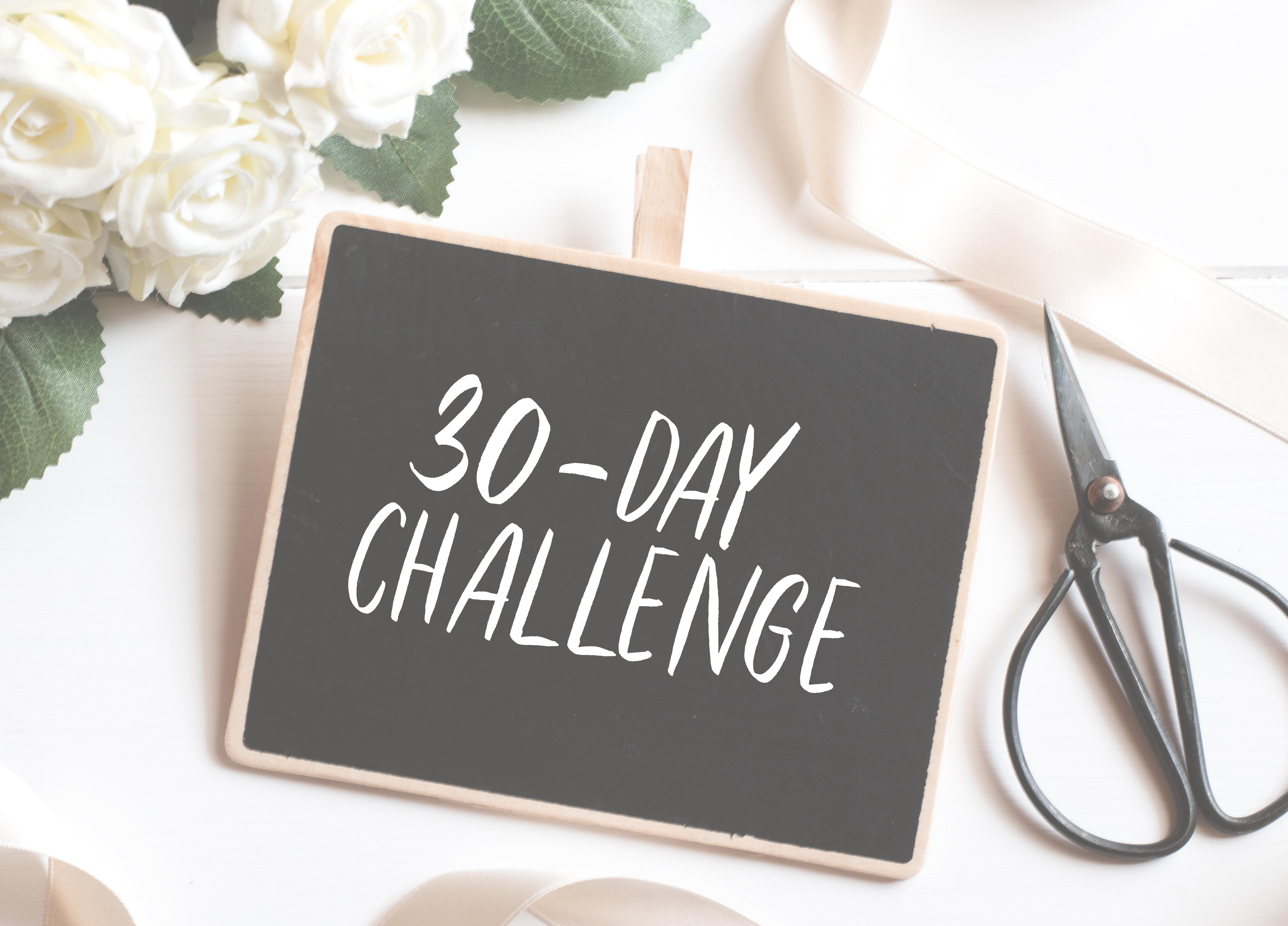 March 30-Day Mini Challenge
