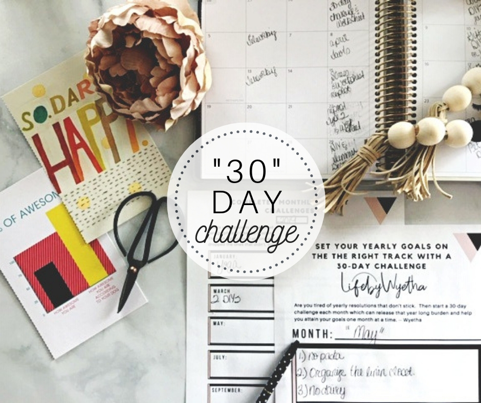July 30-Day Challenge