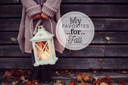 fall favs2019