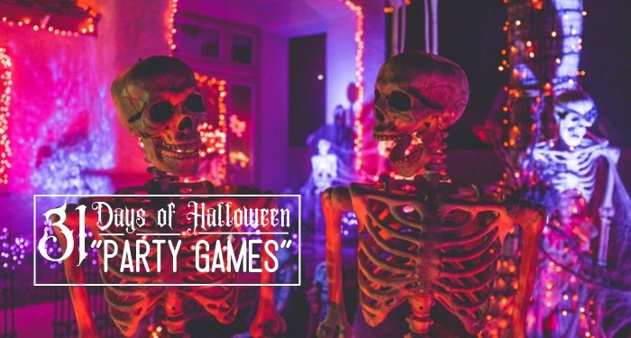 31 Days of Halloween:  Halloween Party Games
