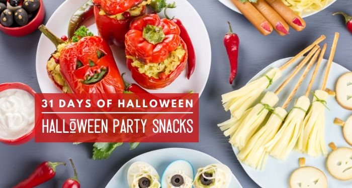 31 Days of Halloween:  Halloween Party Snackage