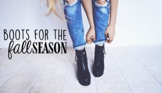 Boots Fall Season Header