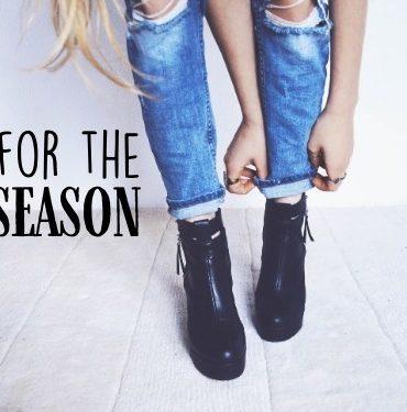 Boots Fall Season Header