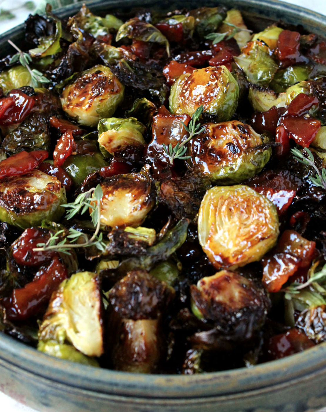 Brussel Sprout with BaconJam