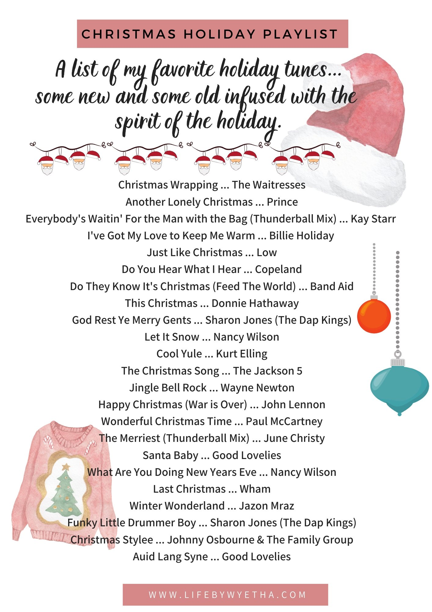 Christmas Playlist 2019