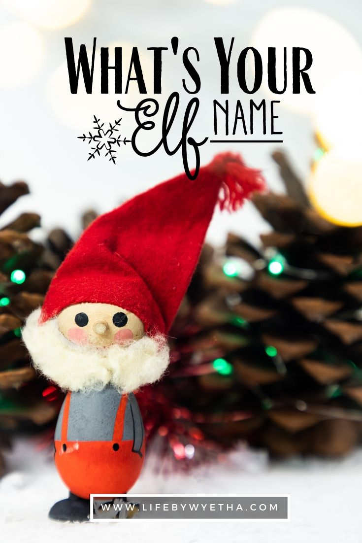 elf name pin