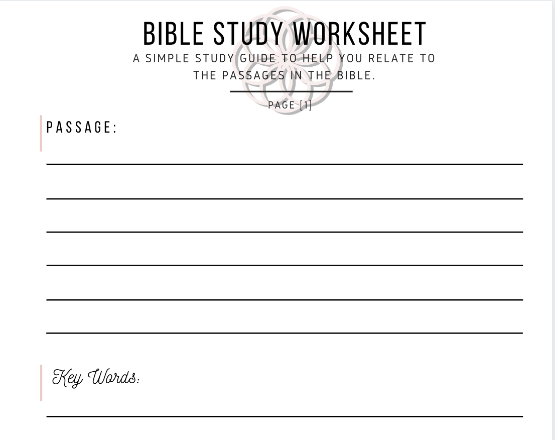 Worksheet Preview
