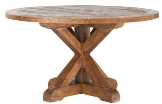Cane Bark Round Table