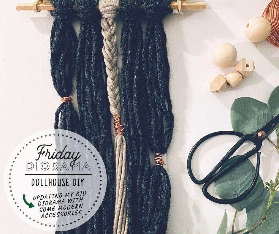 Friday: A Dollhouse DIY…What!