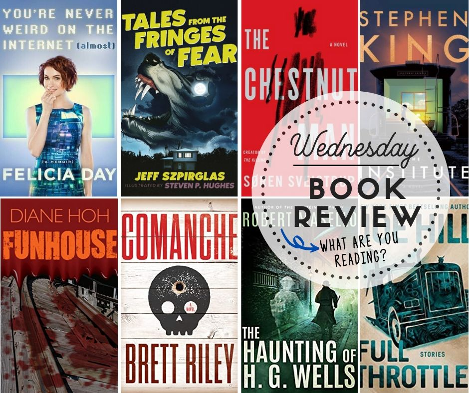 Wednesday:  Book Review … What Are You Reading?