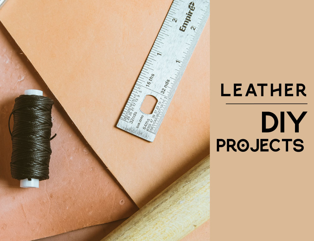 Friday: Quick Leather DIYs