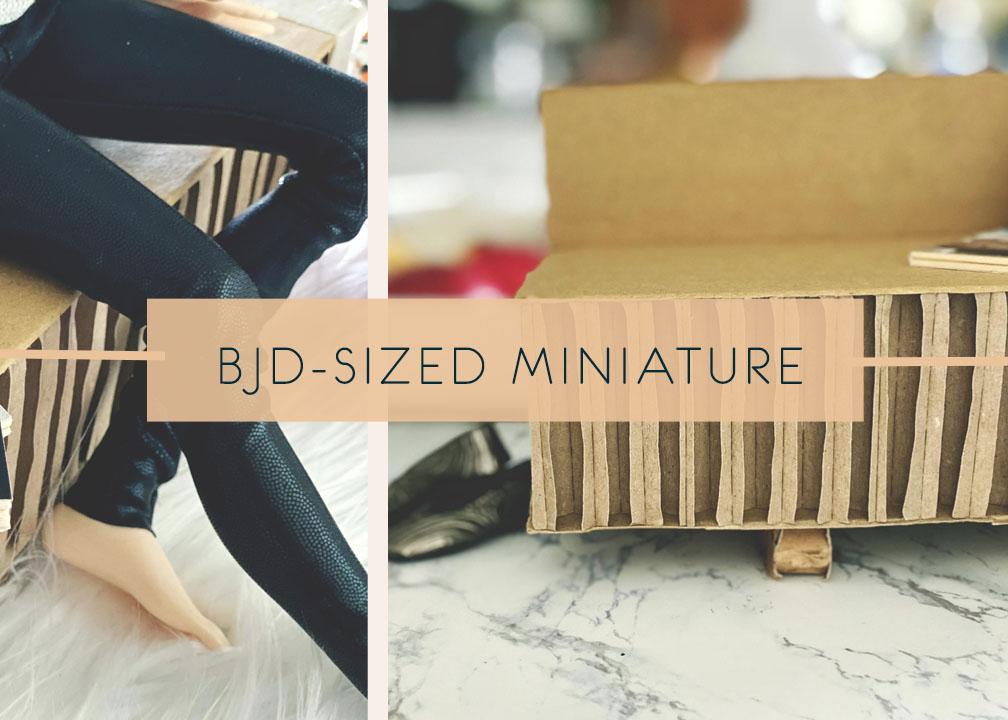 DIY Sofa Miniature … Part 1
