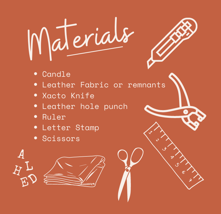 Materials for leather sleeve