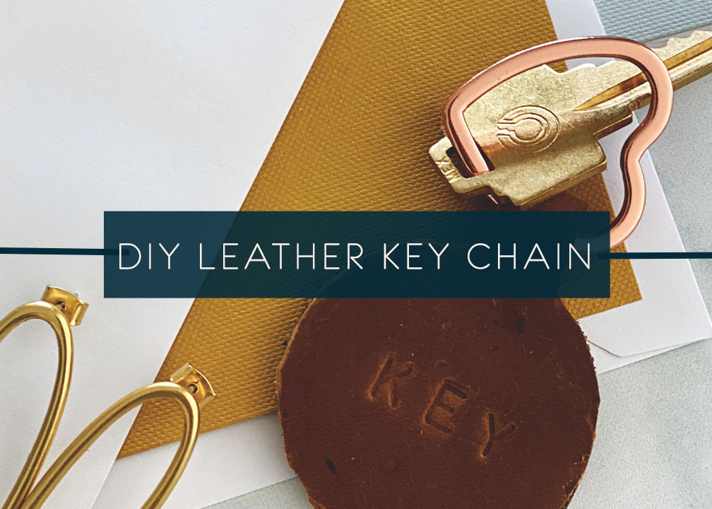 DIY Leather Key Chain