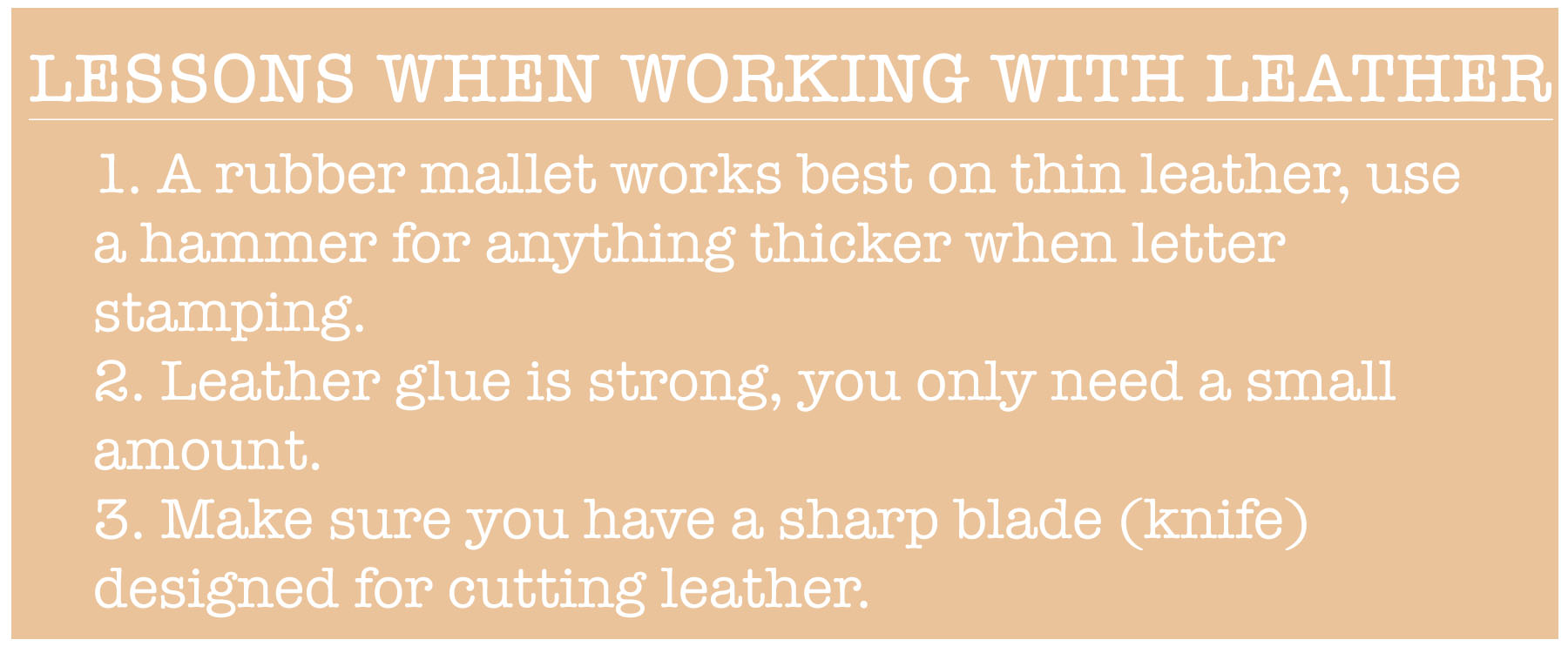 leather rules