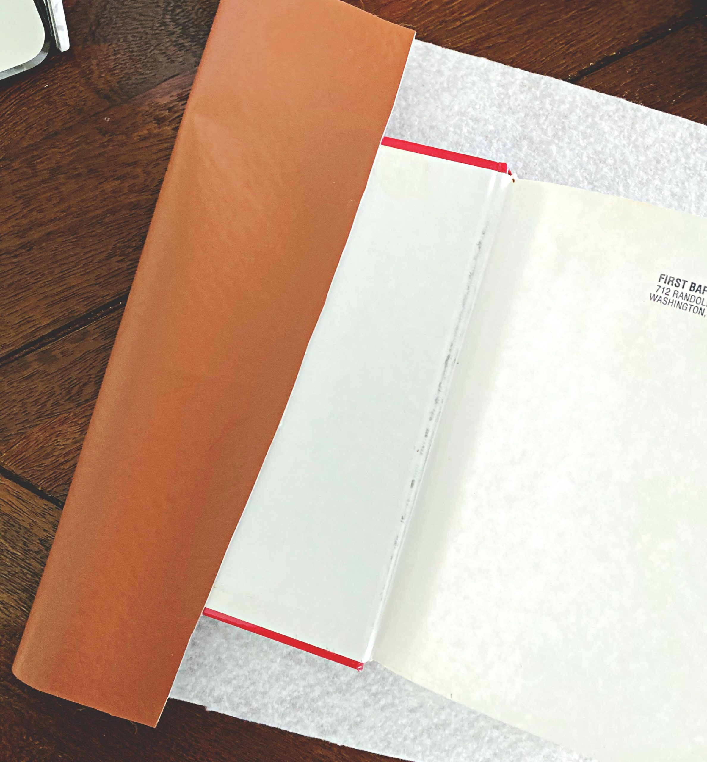 Faux Leather Book2