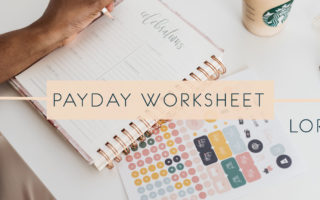 Payday Worksheet