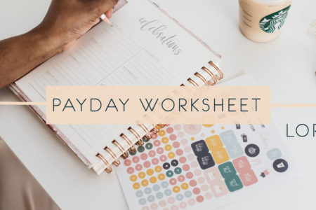 Payday Worksheet