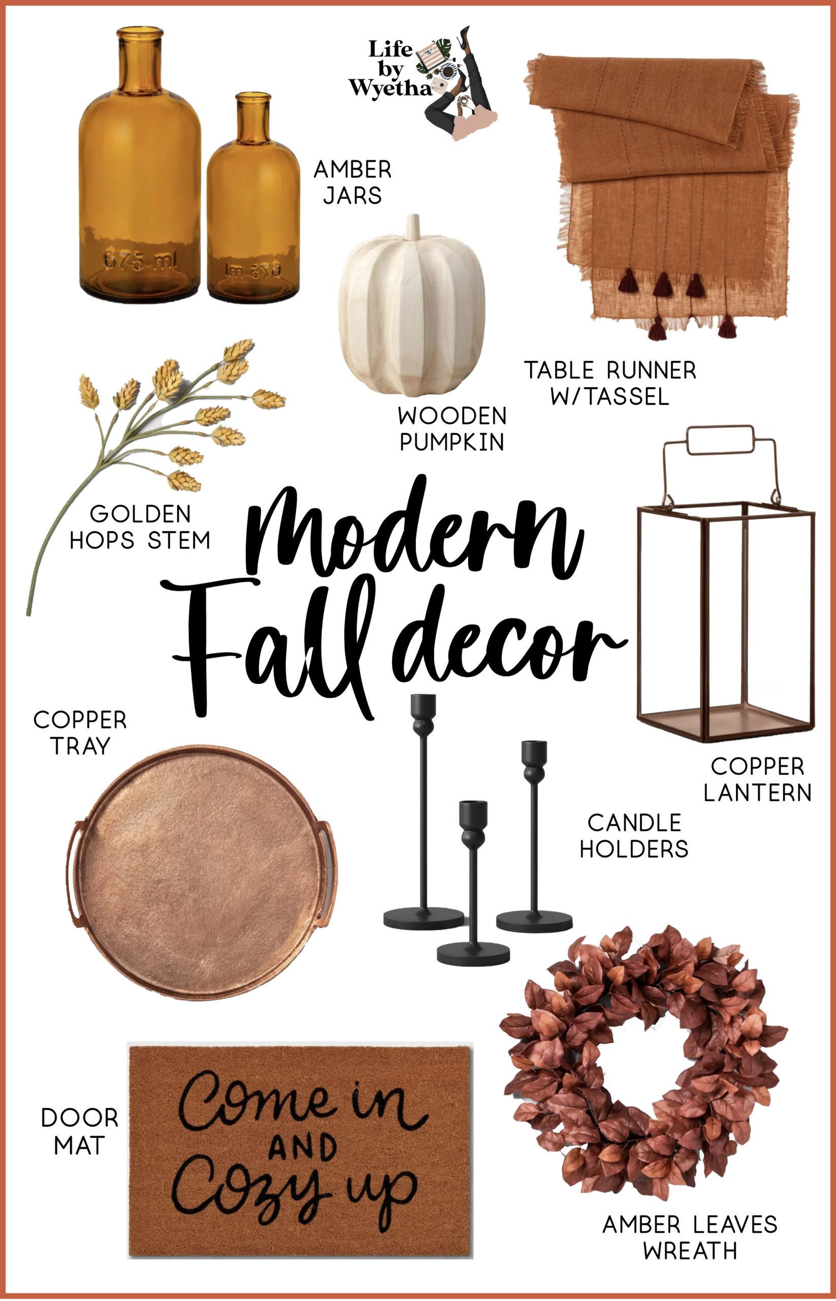 Target Modern Fall Decor