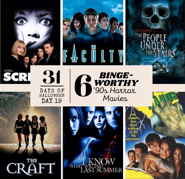 '90s Horror Movie PIN