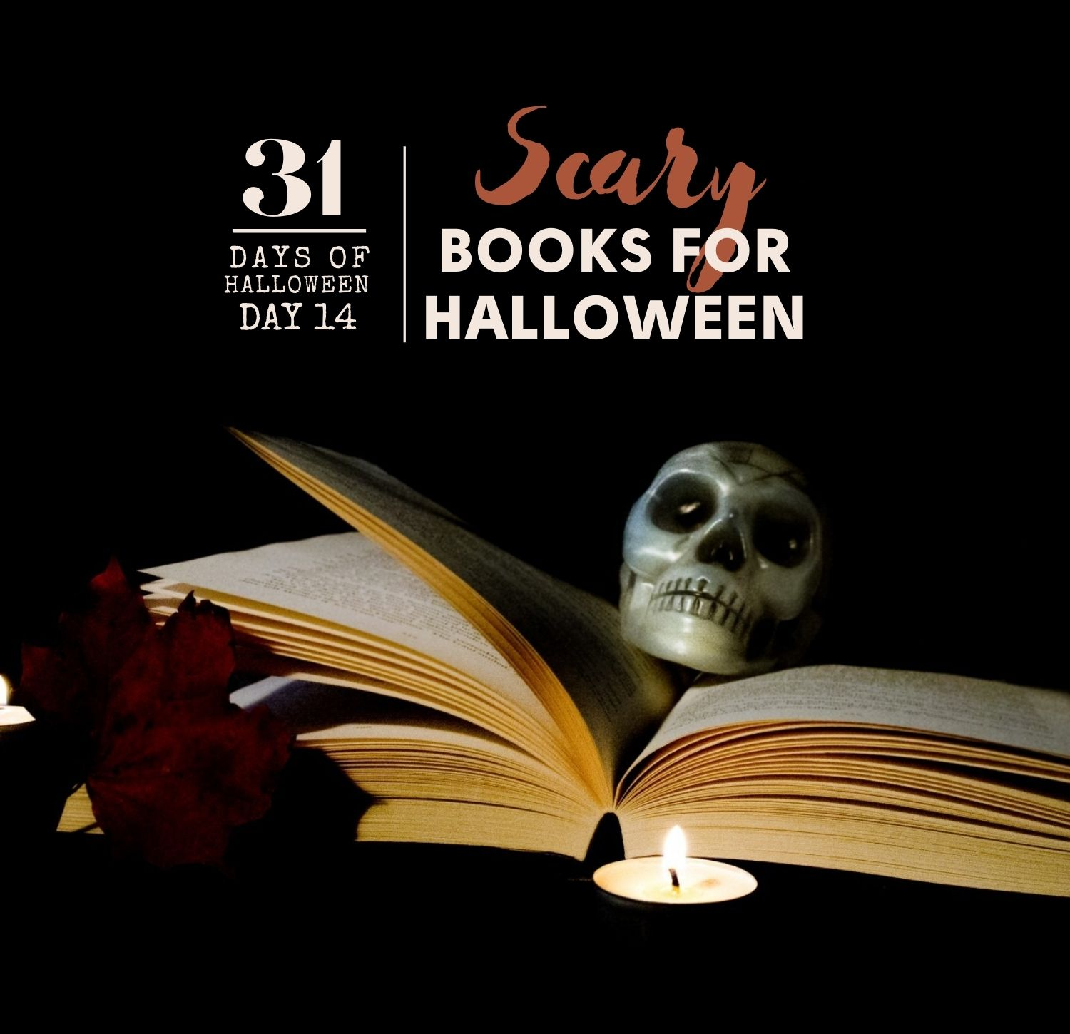 Day 14, Scary books for Halloween, 2020