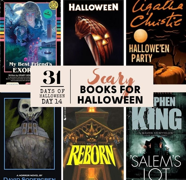 Scary books for Halloween, 2020