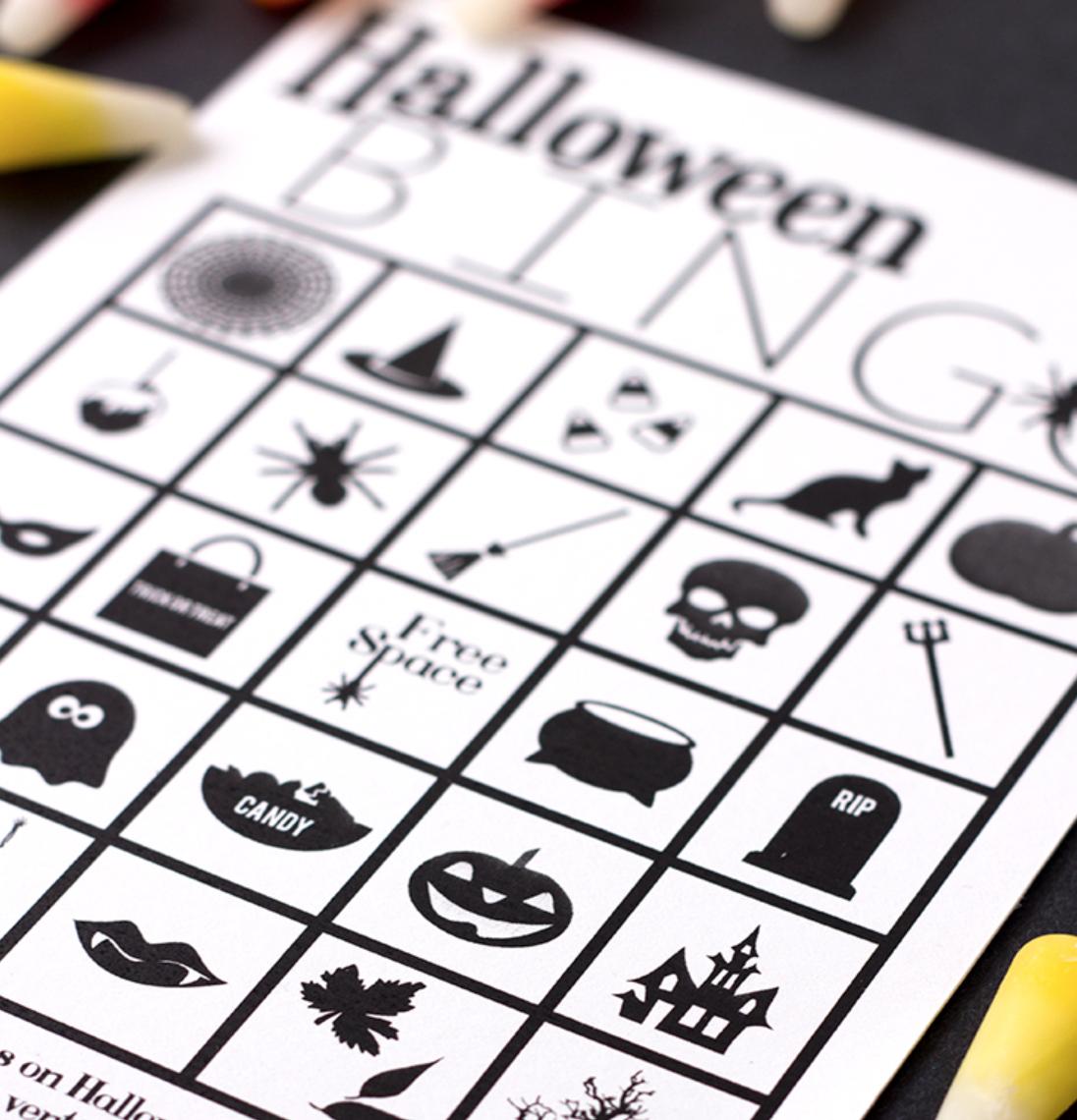 Halloween Bingo Studiology