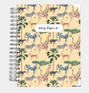 2021 Ivory Paper Planner