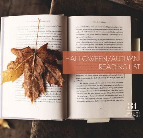 Day 1  Autumn Halloween Books 2020