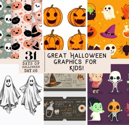 Day #26 ... Great Halloween Graphics for Kids