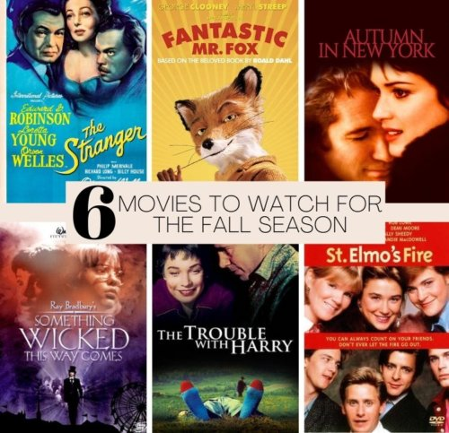 6 Movies to Watch for the Fall Season