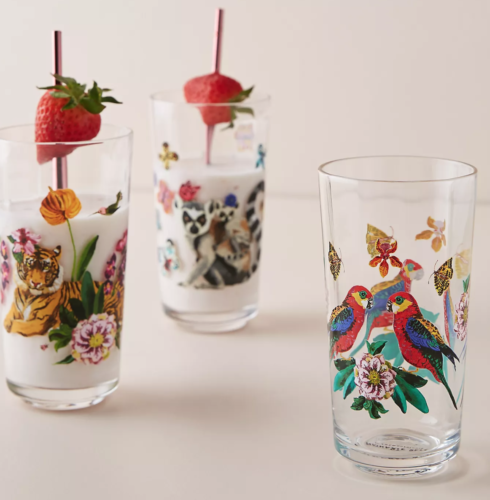 Nathalie Lete Tropical Juice Glass