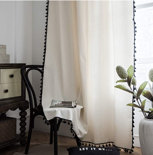 Boho Linen Curtains