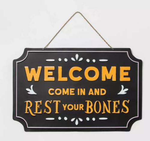 Rest Your Bones Signage