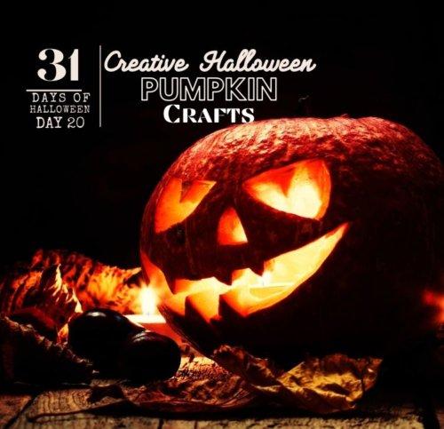 Day #20 ... Halloween Pumpkin Crafts