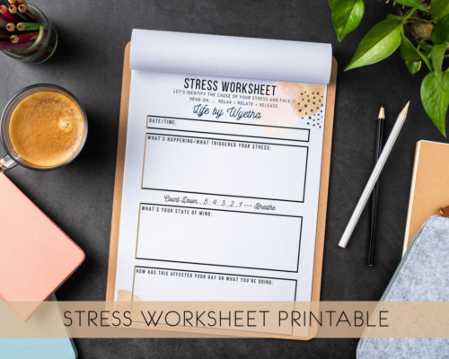 Stress Worksheet