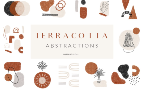 Terracotta Abstractions